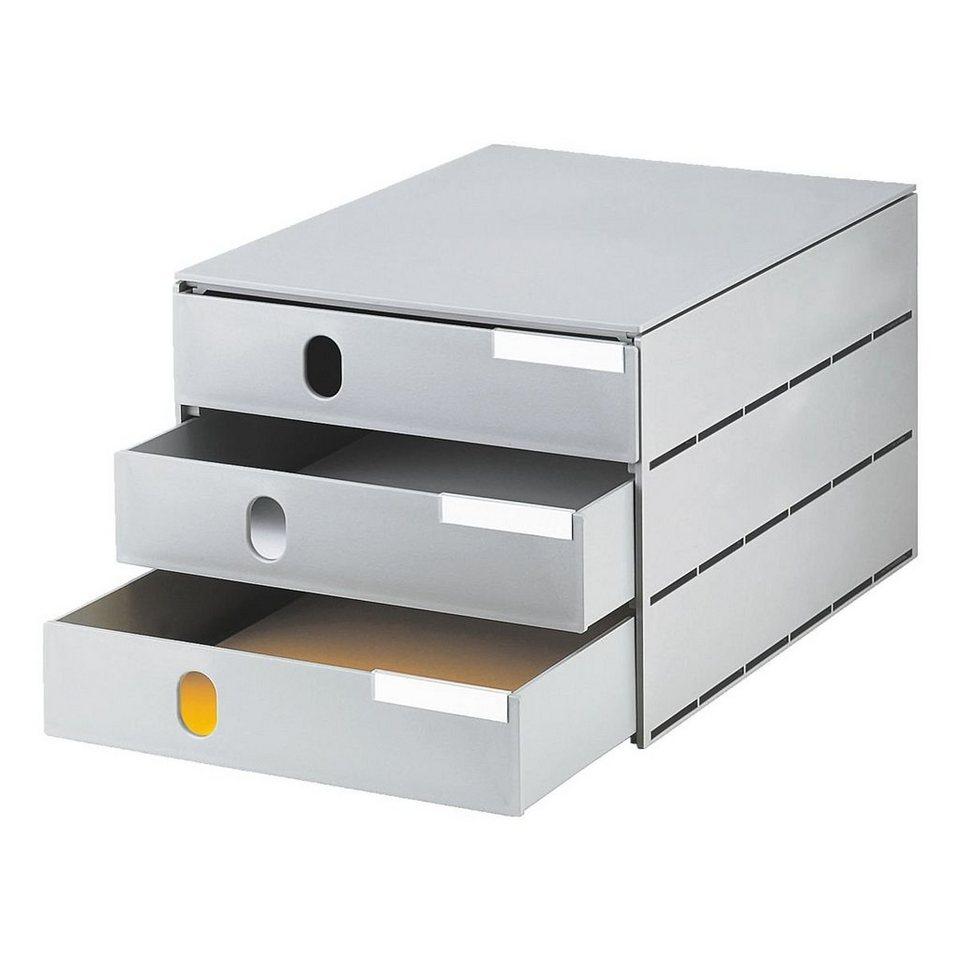Styro Schubladenbox »Styroval« in grau