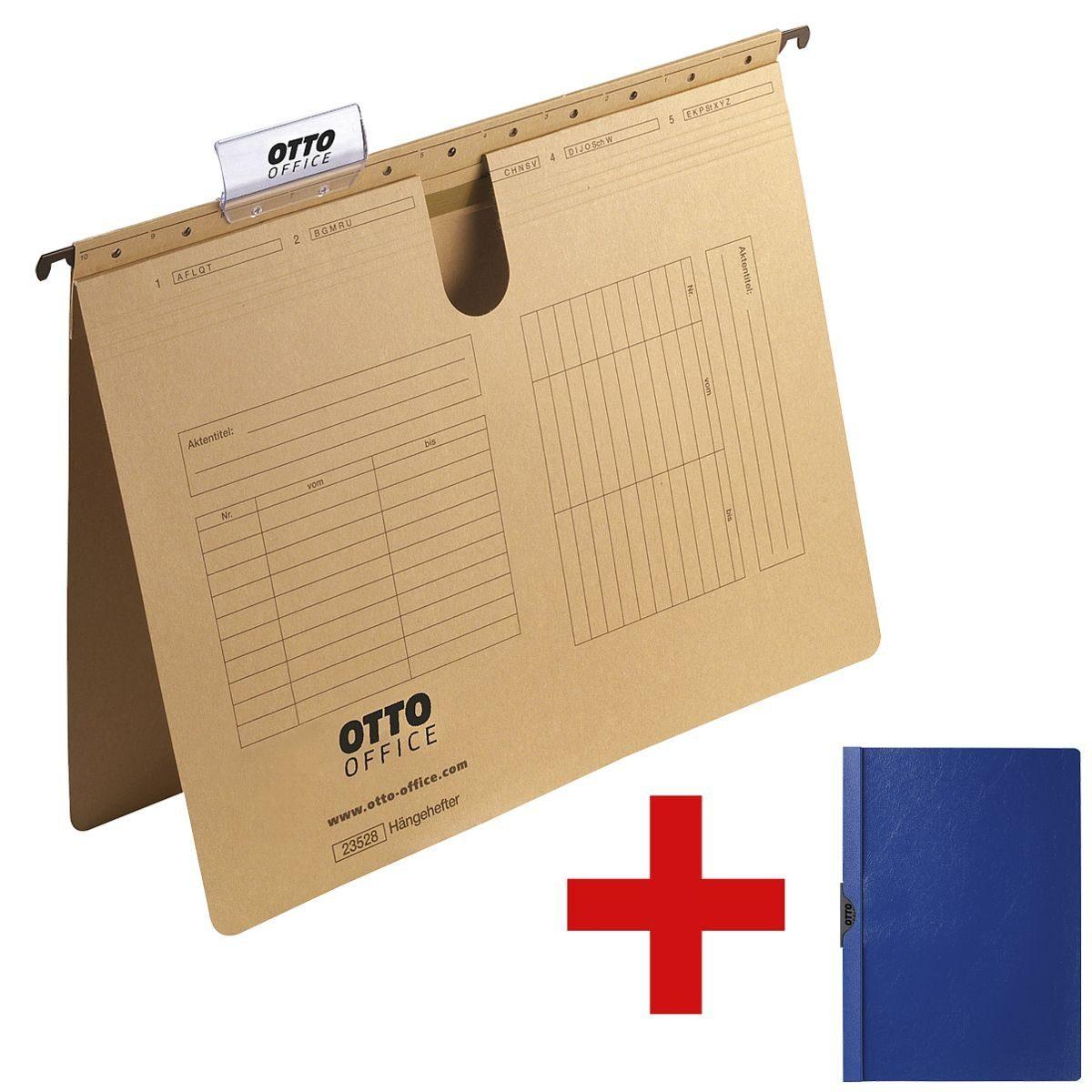 OTTO Office Standard 25er-Pack Hängehefter inkl. 1x Klemmhefter 1 Set