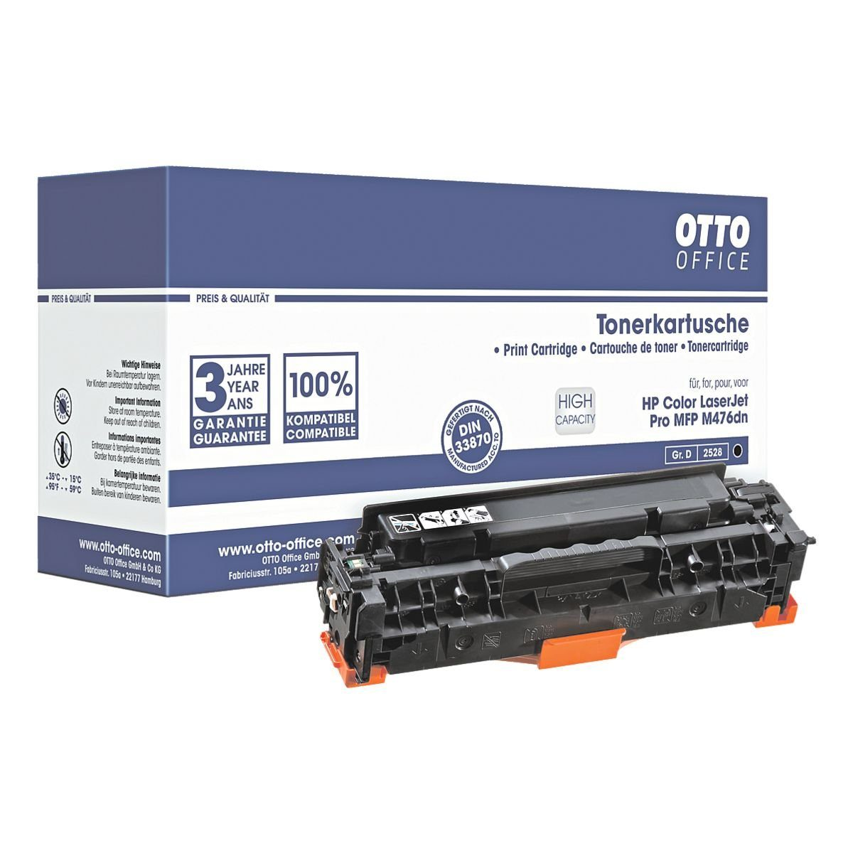 OTTO Office Standard Tonerpatrone ersetzt HP »CF380X« HP 312X