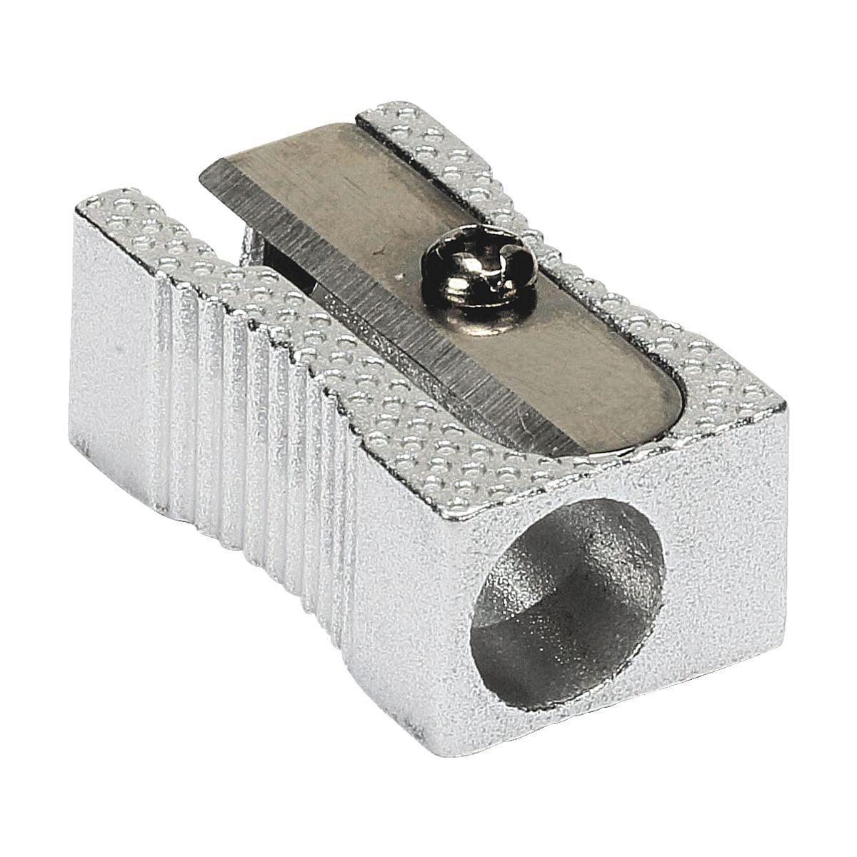 WESTCOTT Metall-Einfachanspitzer silber