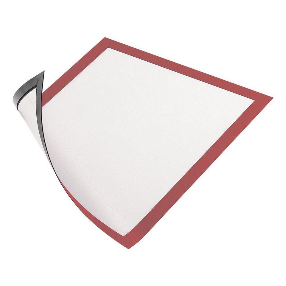 Durable Magnetischer Inforahmen »Duraframe« in rot