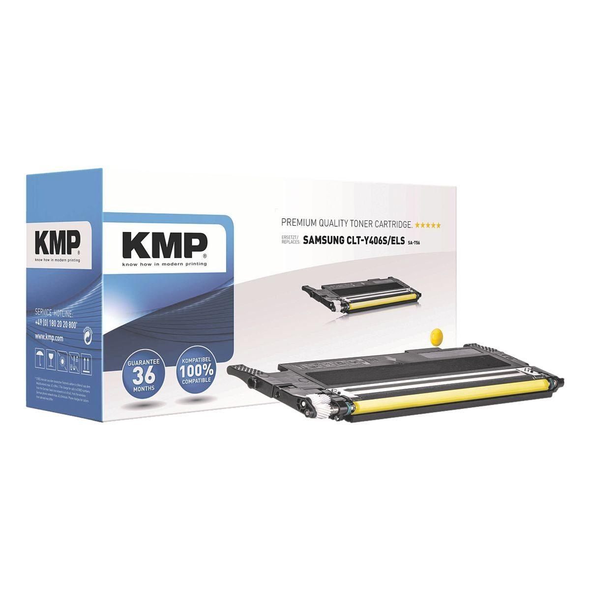 KMP Toner ersetzt Samsung »CLT-Y406S/ELS«