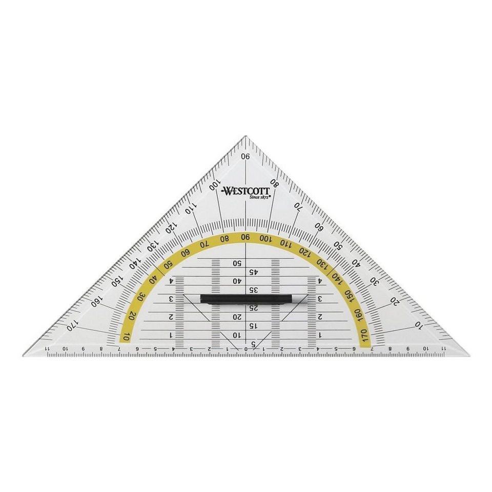 Westcott Geometriedreieck mit Griff