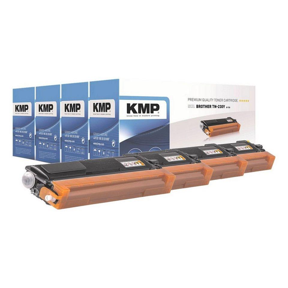 KMP Toner-Set ersetzt Brother »TN-230BK/C/M/Y« in schwarz,cyan,mage...