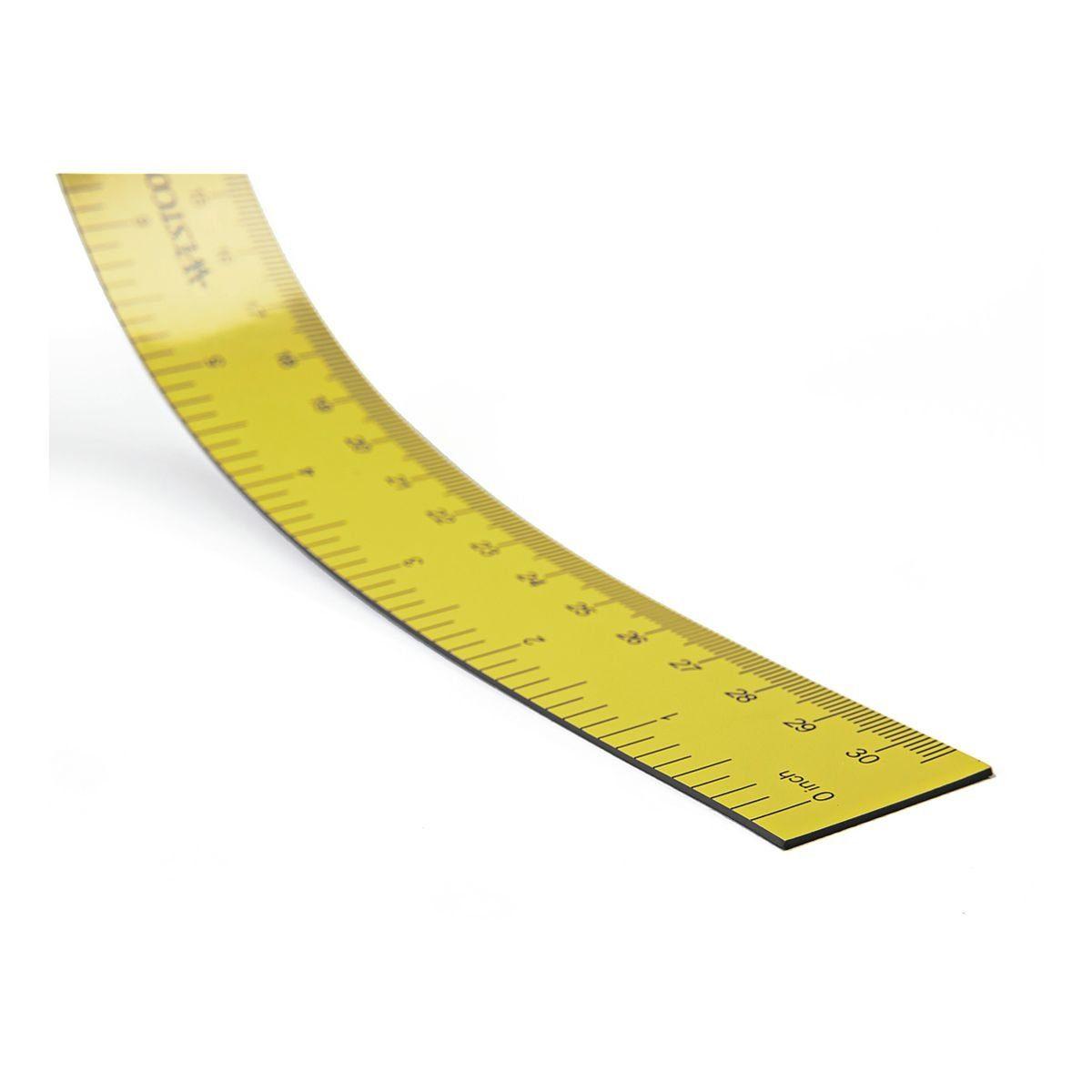Westcott Magnetisches Lineal 30 cm