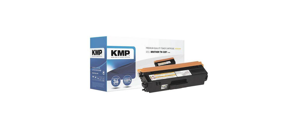 KMP Toner ersetzt Brother »TN-328Y«