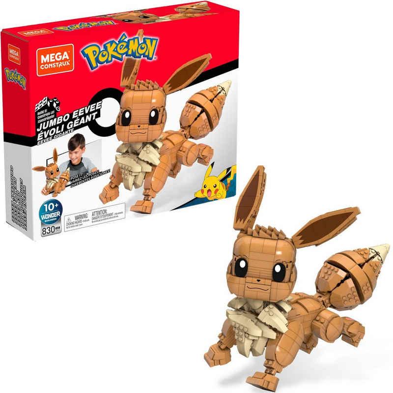 MEGA CONSTRUX Spielfigur »Pokémon Jumbo Evoli«, zum Zusammenbauen