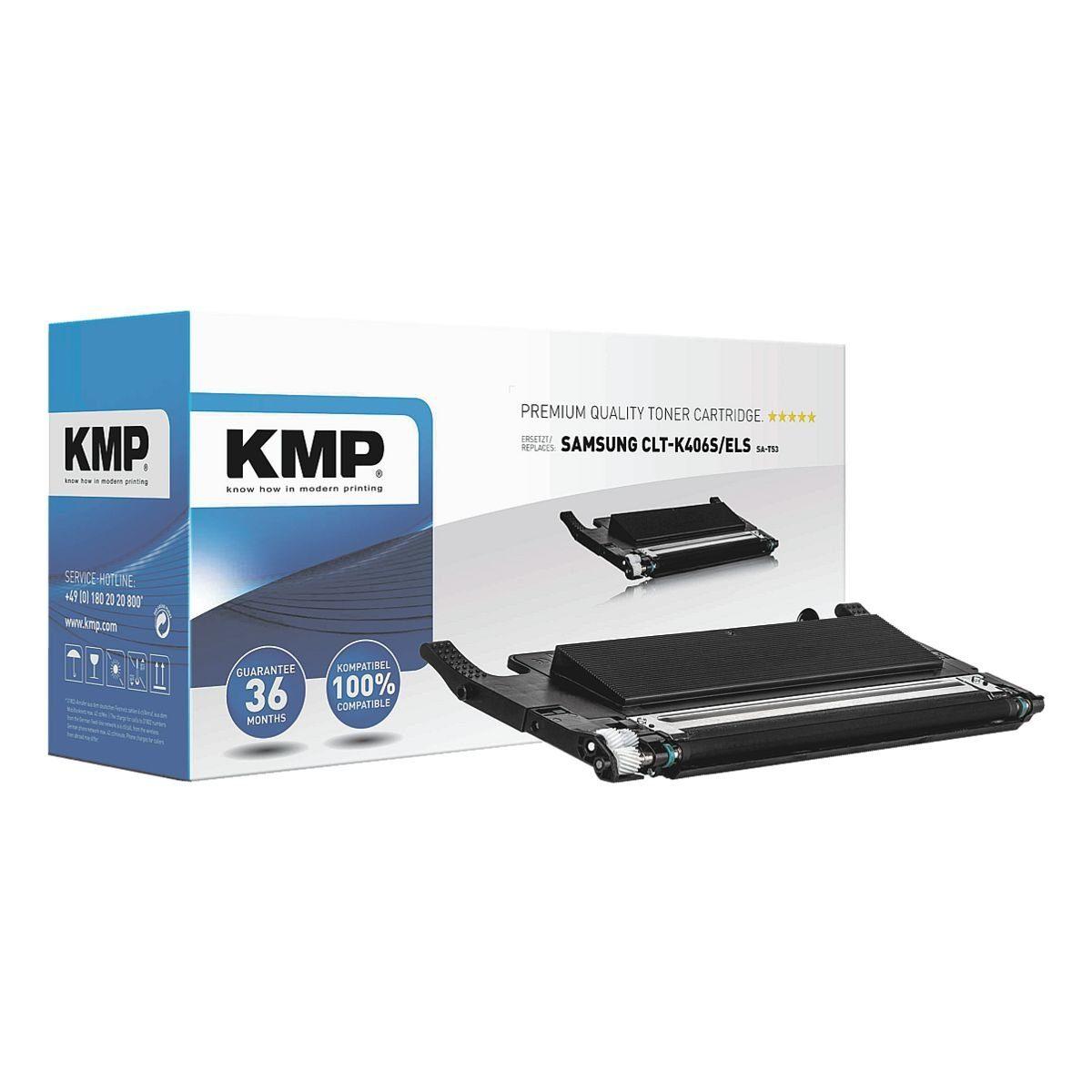 KMP Toner ersetzt Samsung »CLT-K406S/ELS« K406S BK