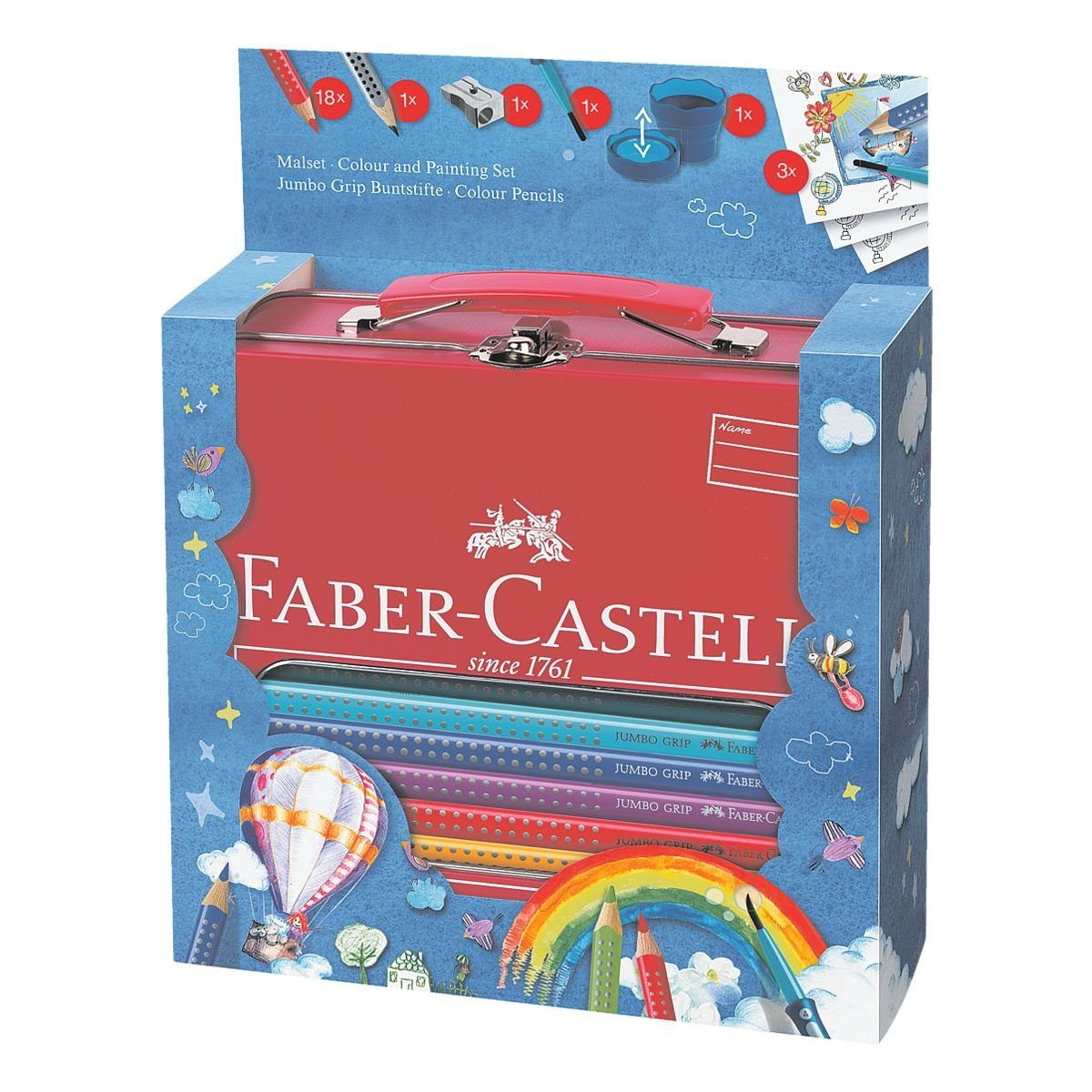 Faber-Castell Malset-Box »Jumbo GRIP«