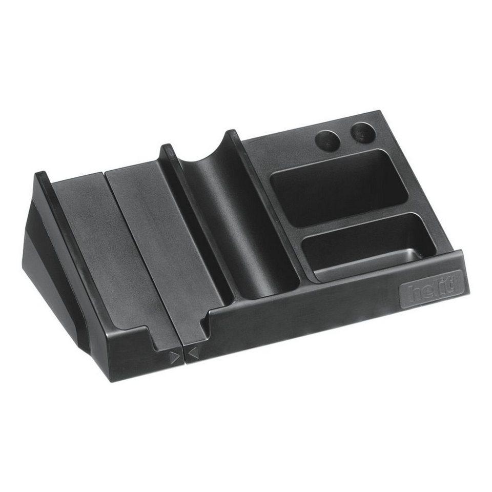 Helit Schreibtisch-Organizer »PET« in schwarz