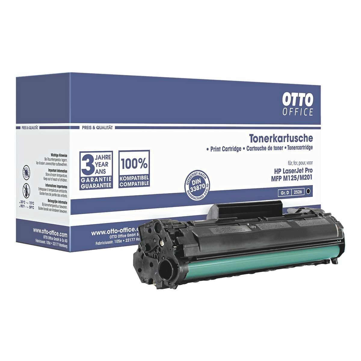 OTTO Office Standard Toner ersetzt HP »CF283A« Nr. 83A