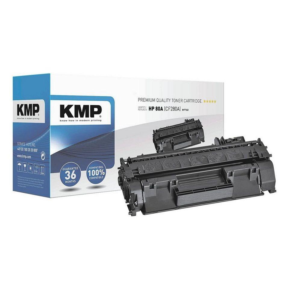 KMP Toner ersetzt HP »CF280A« 80A