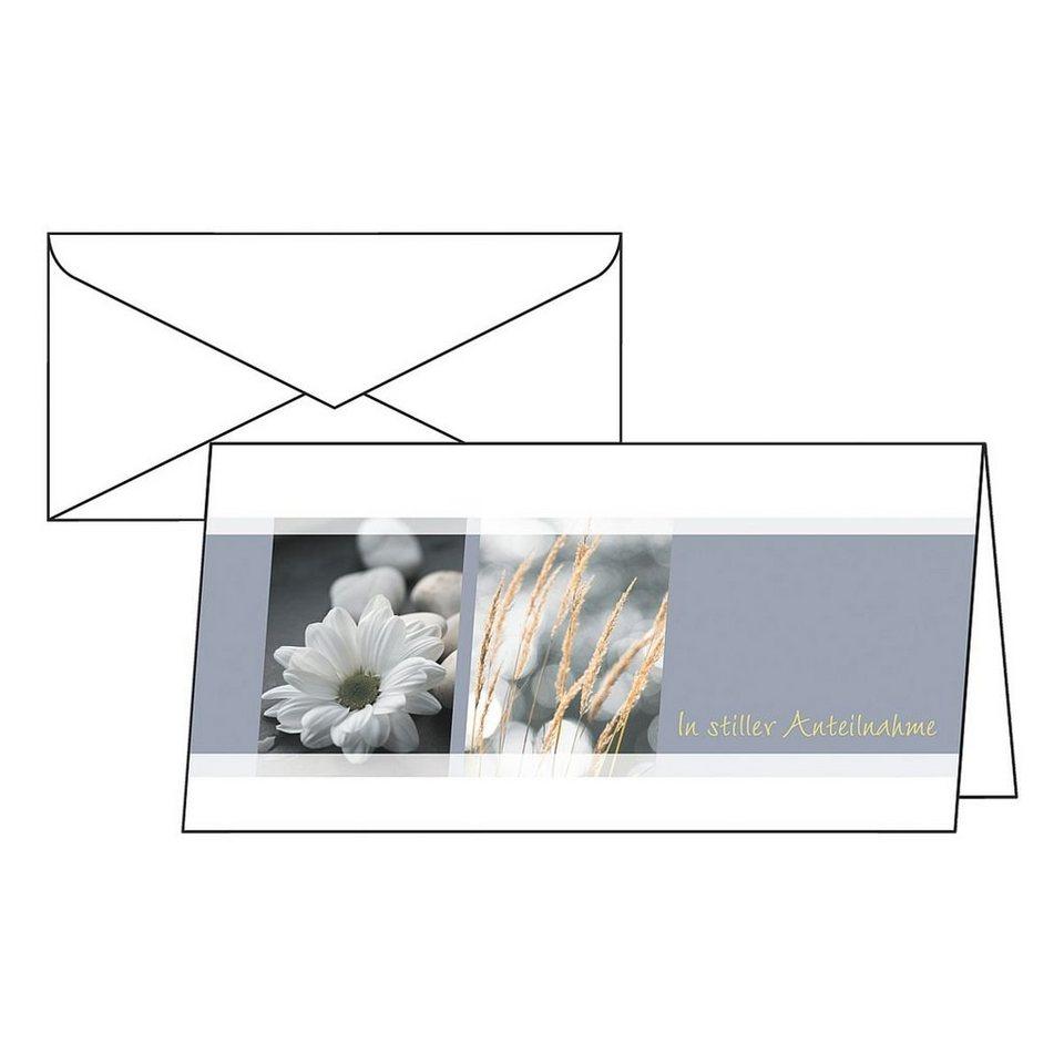 Sigel Trauer-Karten »Anteilnahme«
