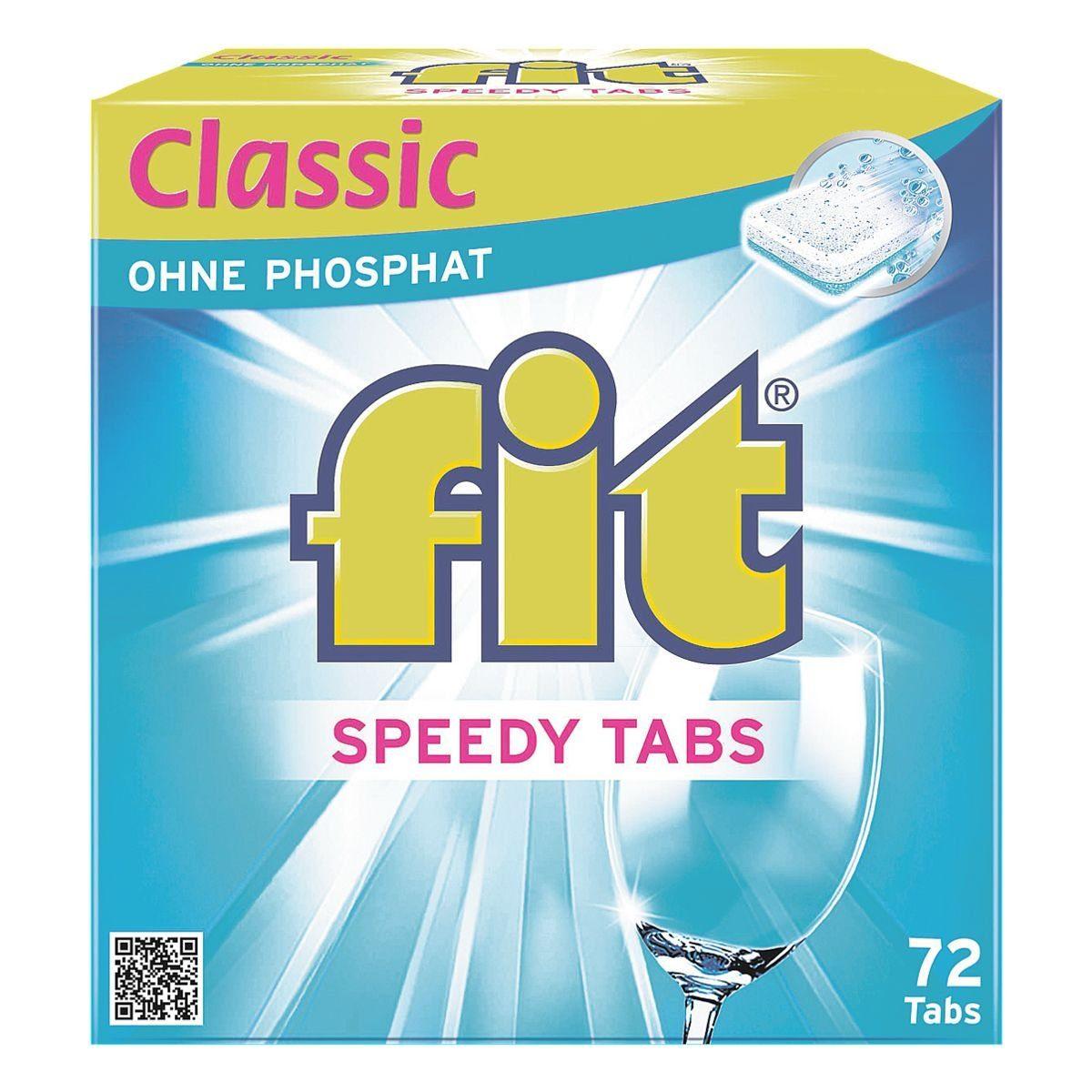 FIT Geschirrspültabs »Speedy Classic«