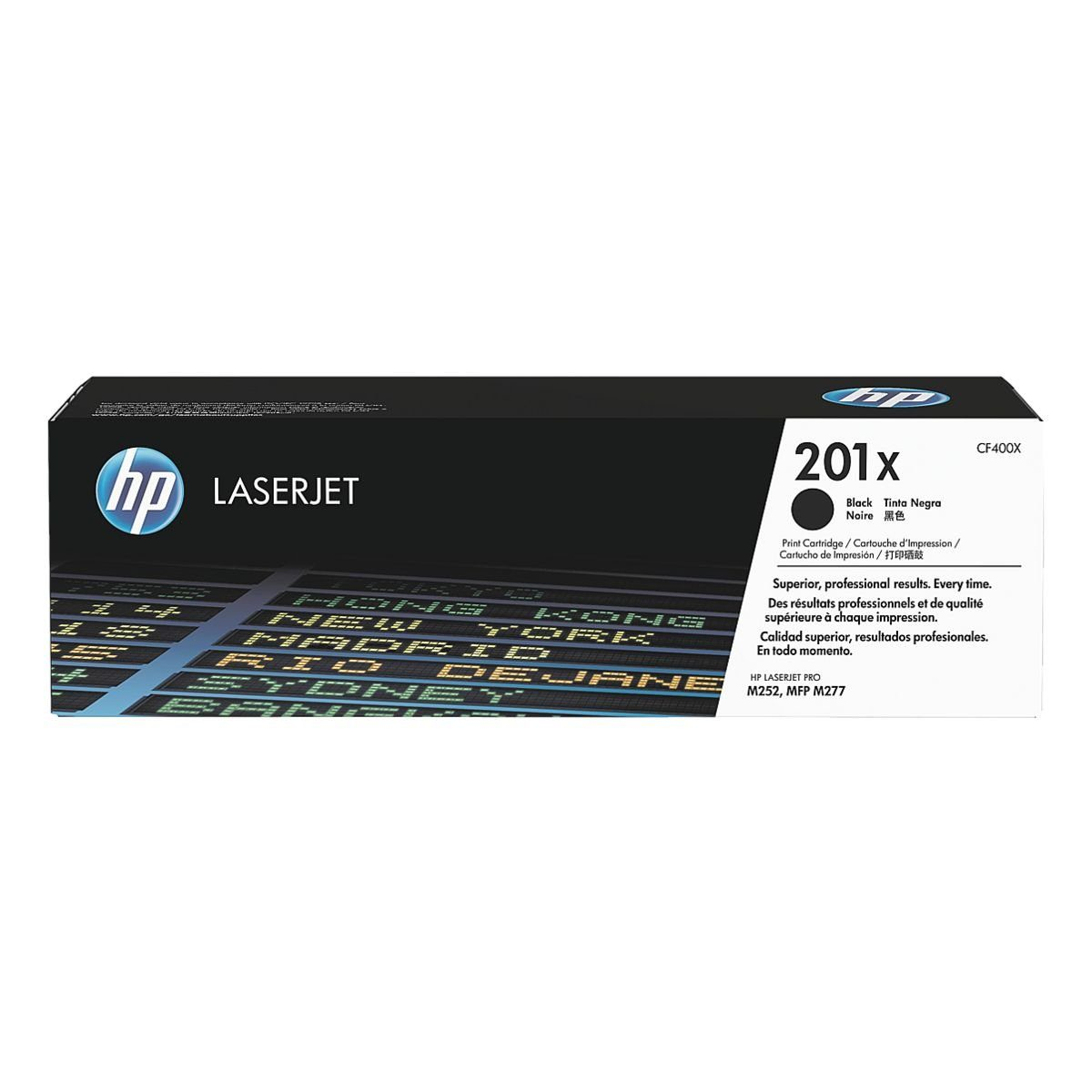 HP Druckkassette HP 201X »HP CF400X«