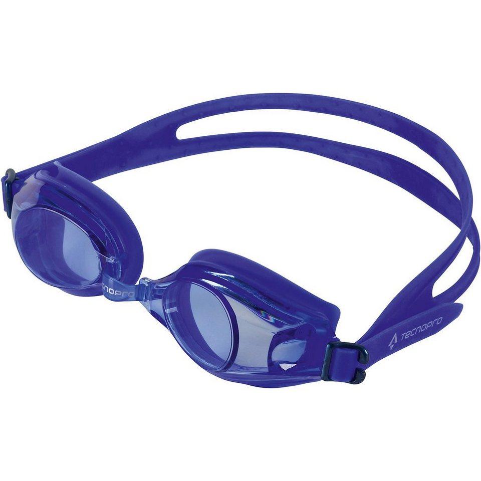 Tecnopro Schwimmbrille Tempo Pro, blau in blau