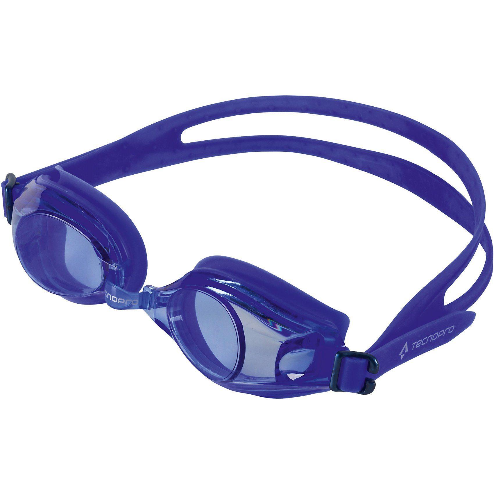 Tecnopro Schwimmbrille Tempo Pro, blau