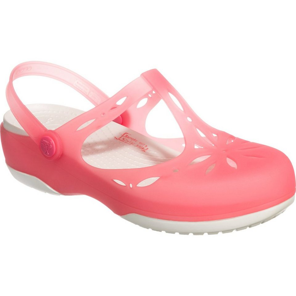 CROCS Carlie Cutout Clogs in lachs