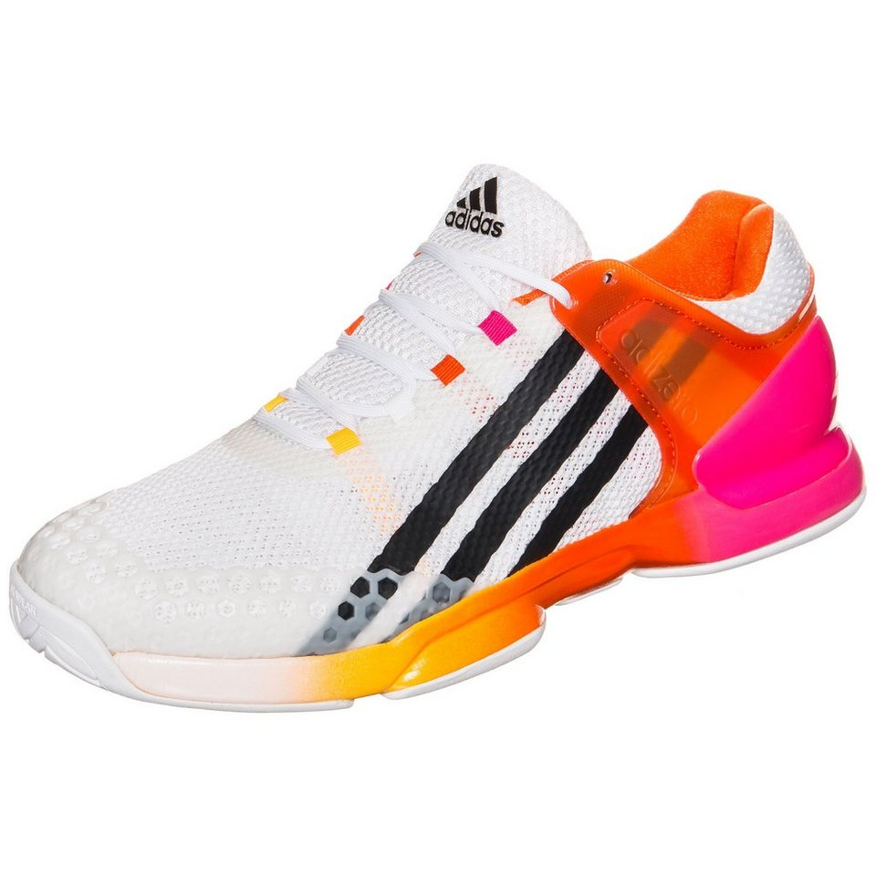 adidas Performance adizero Ubersonic Tennisschuh Herren in weiß / pink / rot