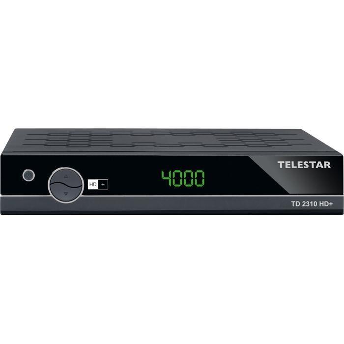 TELESTAR Satellitenreceiver »TD 2310 HD+« in schwarz