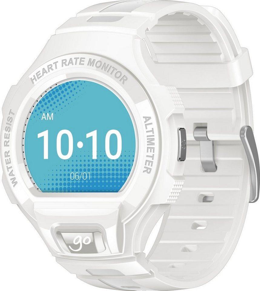 Alcatel Smartwatch »ONETOUCH GO watch SM03« in Weiß-Grau