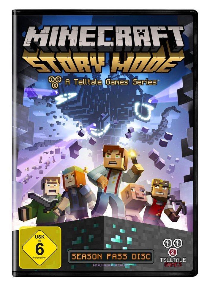 Telltale Games PC Spiel Minecraft Story Mode OTTO - Minecraft pc spiele
