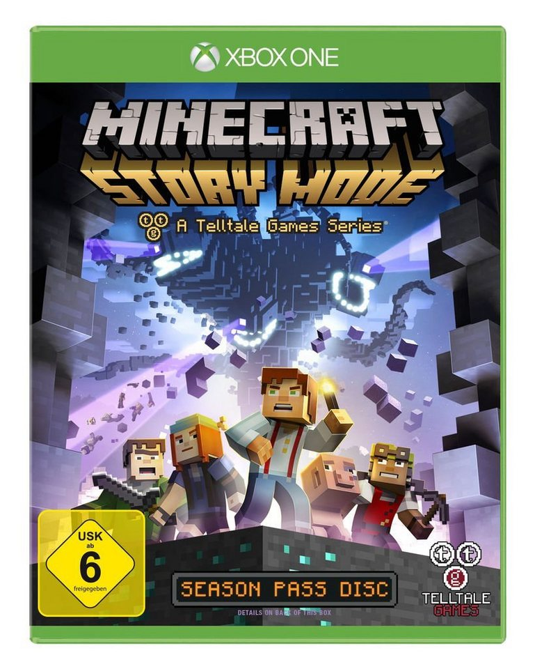 Telltale Games XBOX One - Spiel »Minecraft: Story Mode«