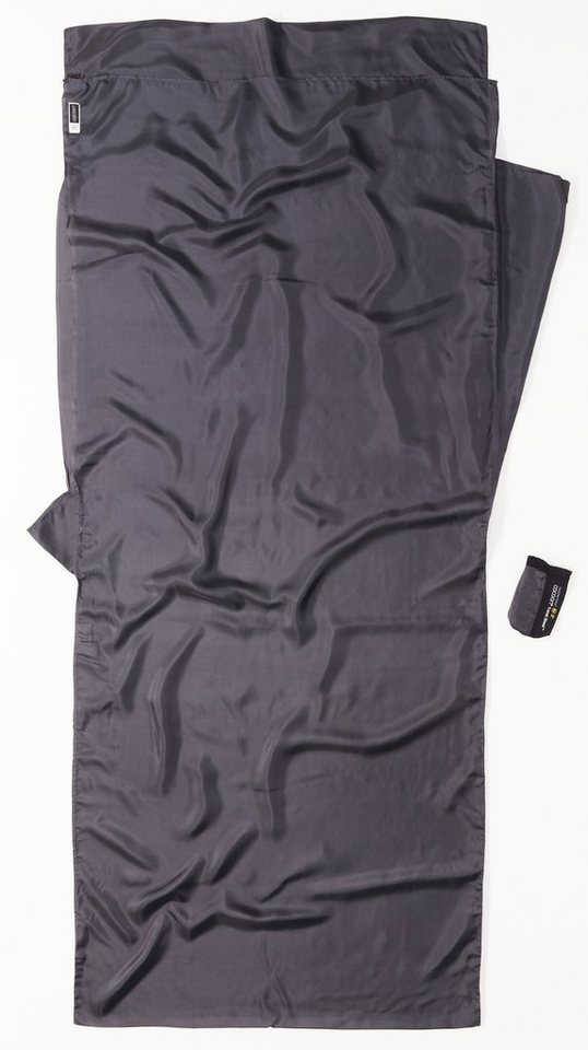 Cocoon Schlafsack »Insect Shield TravelSheet Inlet Silk« in grau