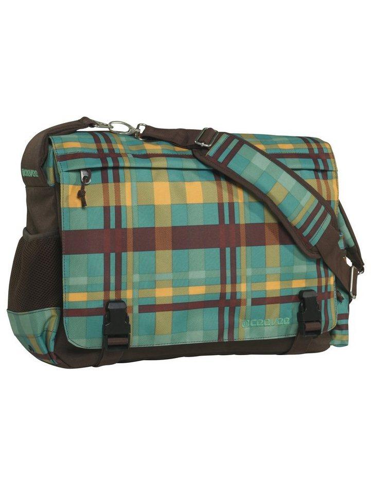 ceevee® Messenger Bag, »Manchester caro petrol« in caro petrol