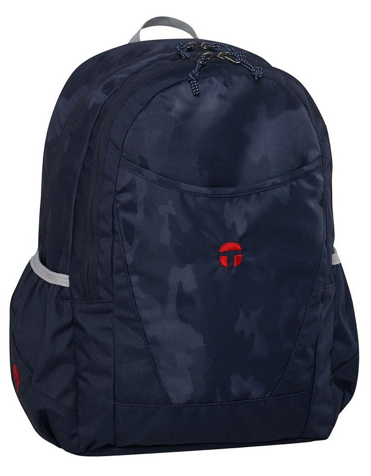 TAKE IT EASY® Schulrucksack, »Paris camouflage navy« in camouflage navy