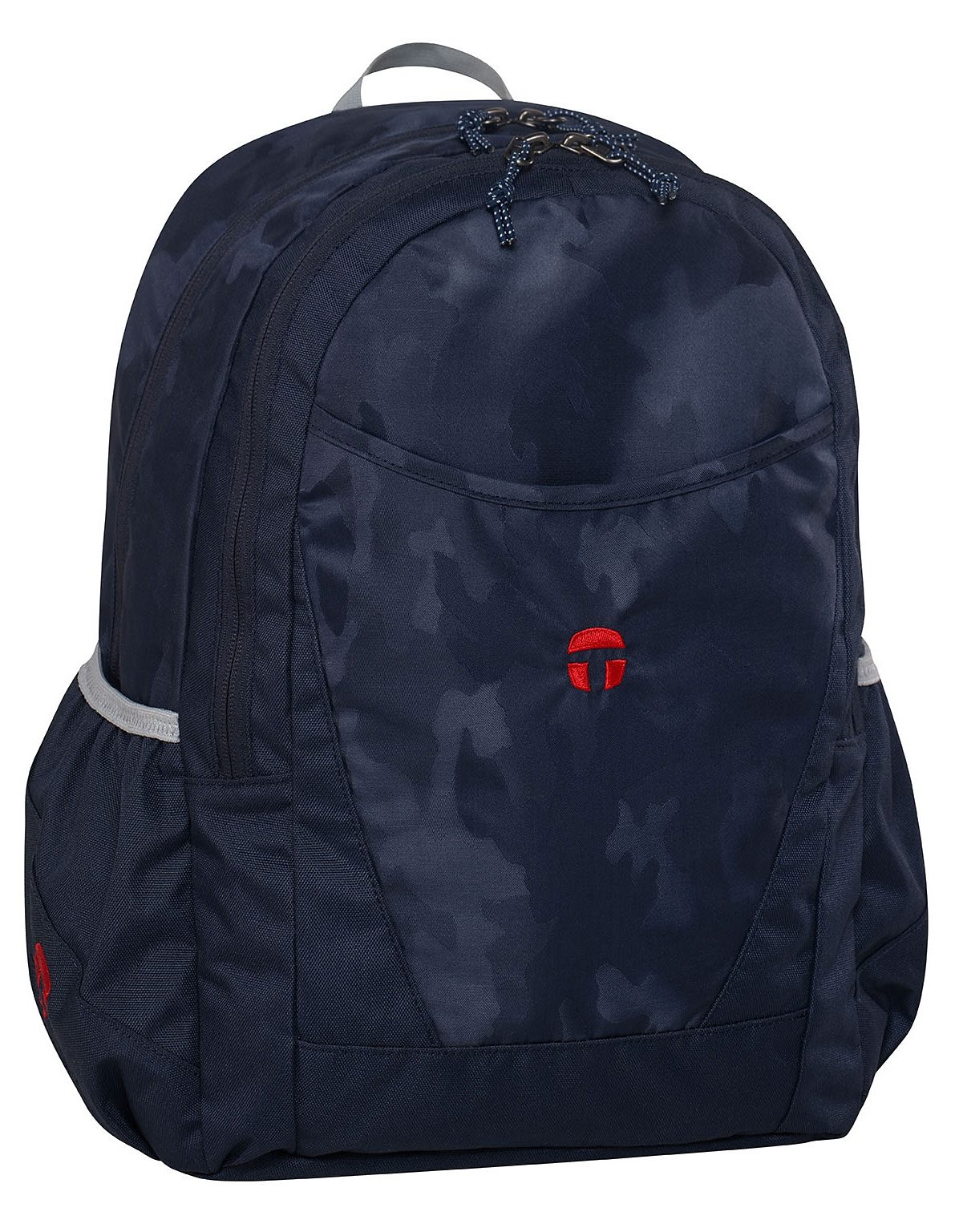 TAKE IT EASY® Schulrucksack, »Paris camouflage navy«