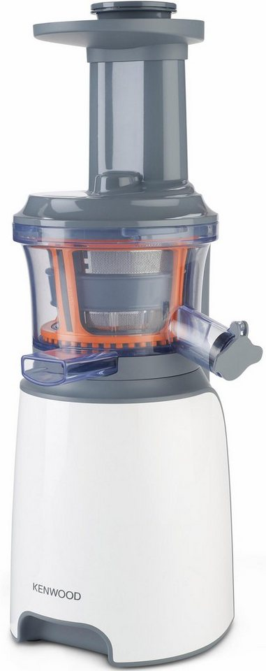 Kenwood Slow Juicer »JMP 600 WH«, 400 ml Saftbehälter, 1,3 l Tresterbehälter, 150 Watt in weiß/grau