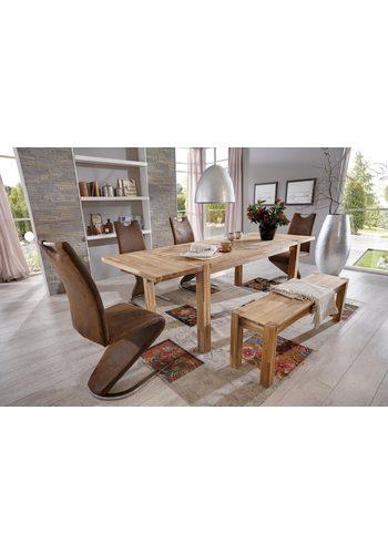 Esstisch, Premium collection by Home affaire, Paula, inkl. Ansteckplatten   