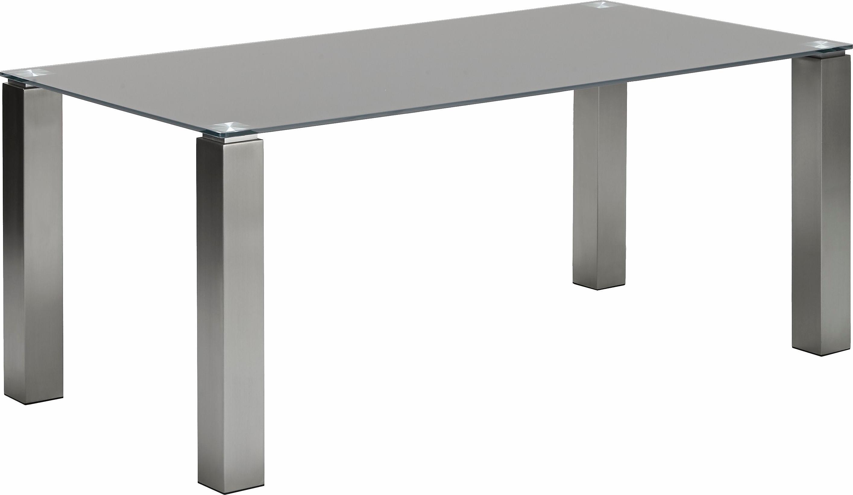 Esstisch holz glas edelstahl  edelstahl-glas Esstische online kaufen | Möbel-Suchmaschine ...