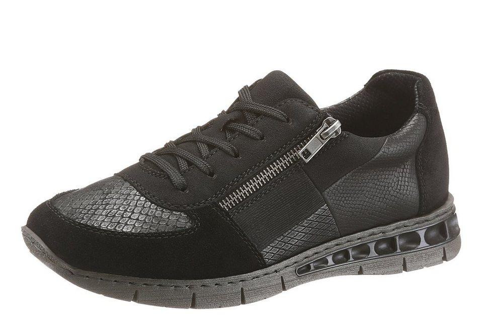 Rieker Sneaker in schwarz-grau