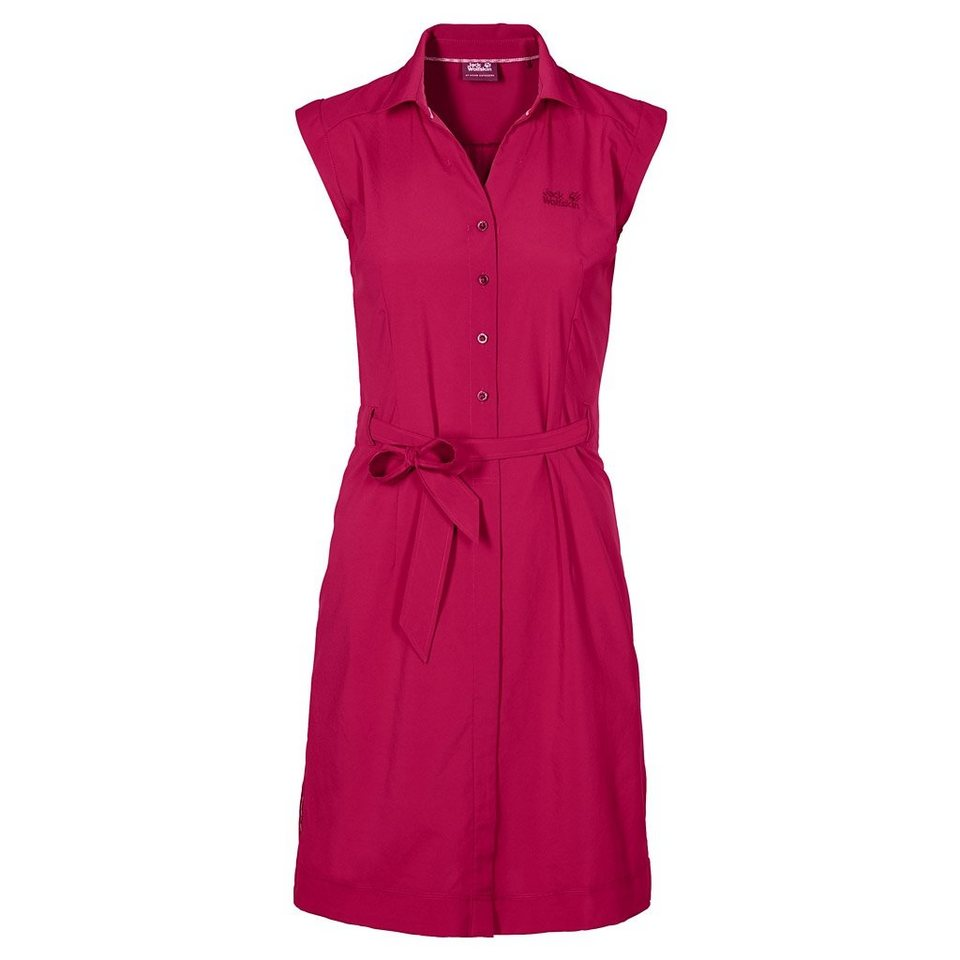 Jack Wolfskin Citykleid »MALAWI DRESS« in azalea red