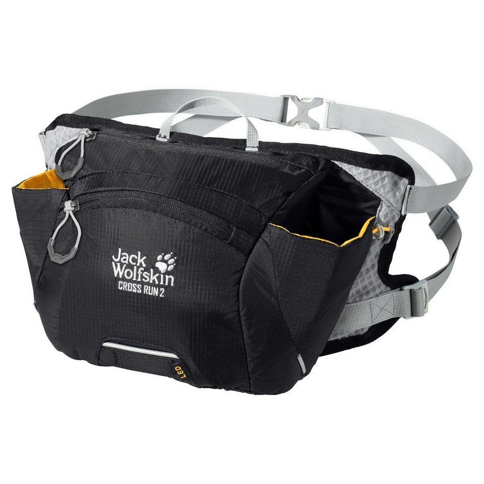 Jack Wolfskin Hüfttasche »CROSS RUN 2« in black