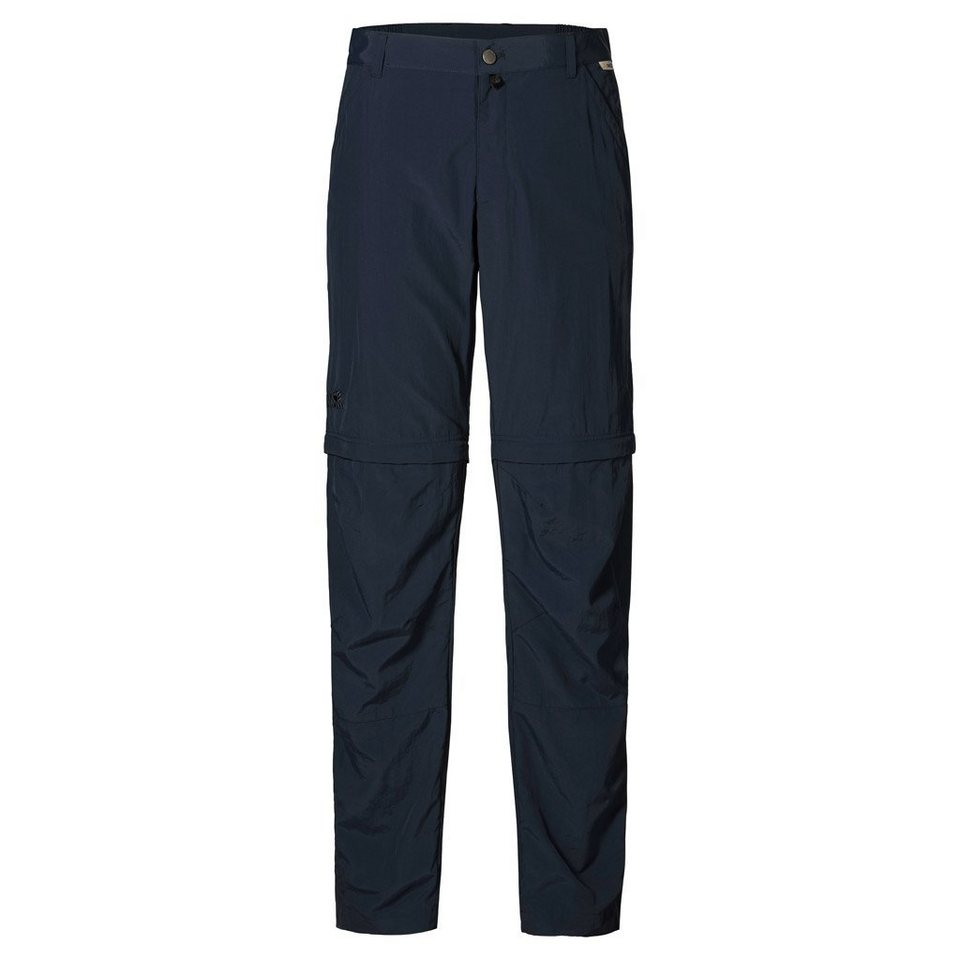 Jack Wolfskin Outdoorhose »CANYON ZIP OFF PANTS MEN« in night blue