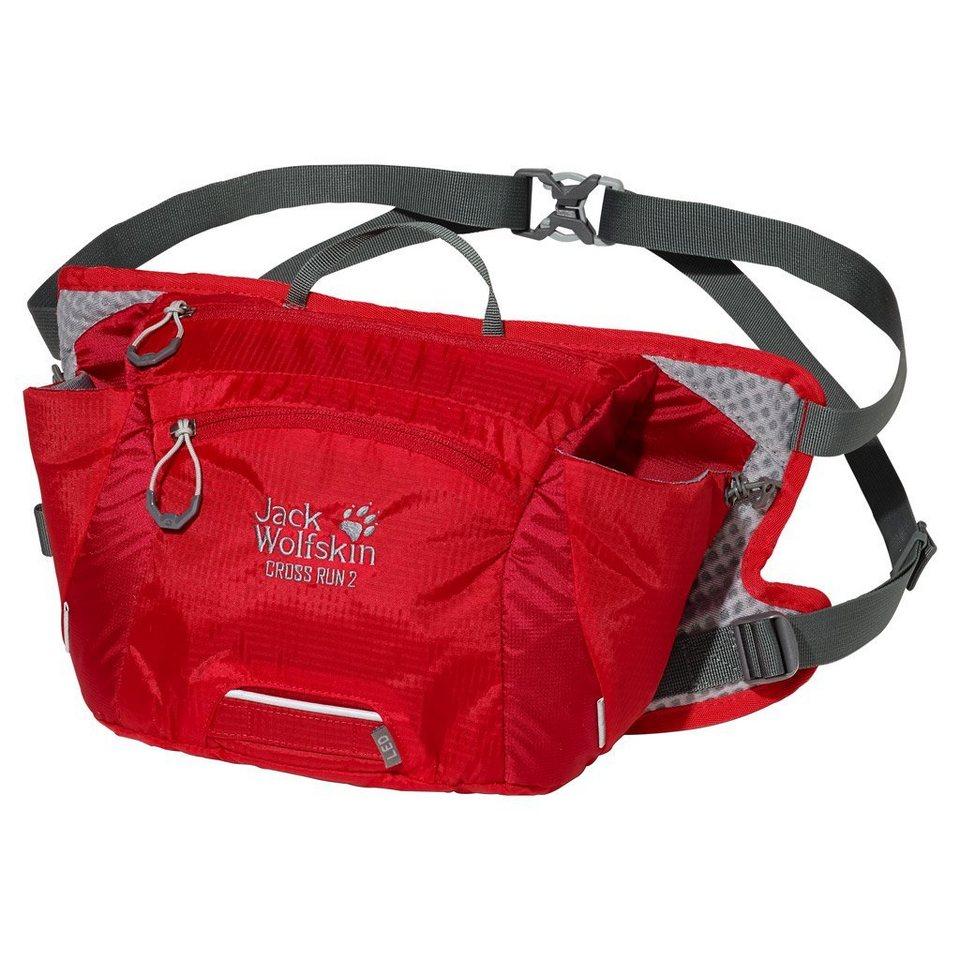 Jack Wolfskin Hüfttasche »CROSS RUN 2« in red fire