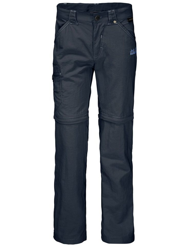 Jack Wolfskin Hose »SAFARI ZIP OFF PANTS K« in night blue