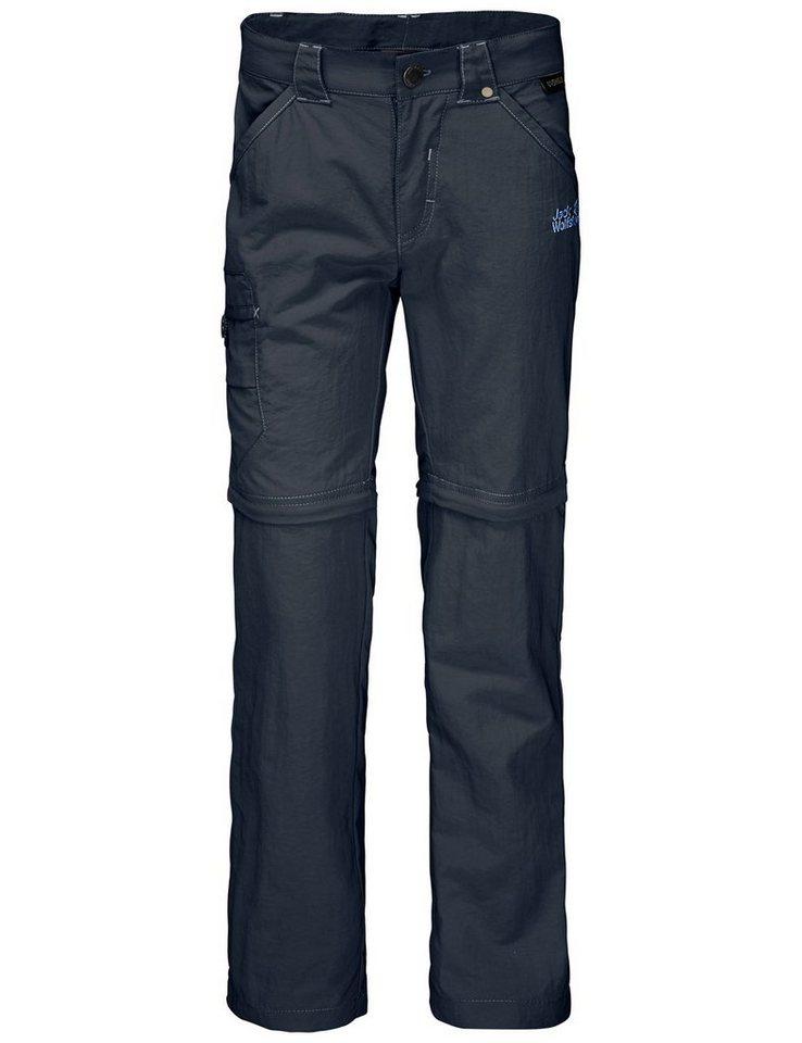 Jack Wolfskin Outdoorhose »SAFARI ZIP OFF PANTS K« in night blue