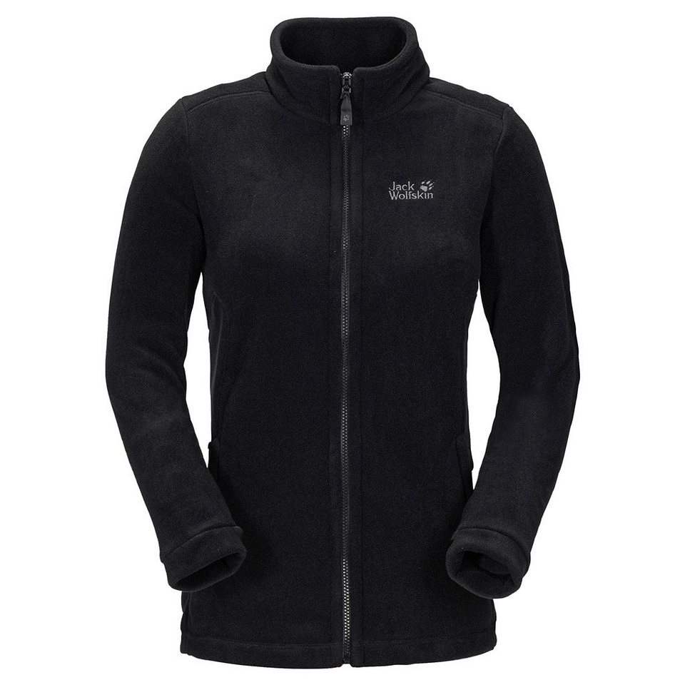 Jack Wolfskin Fleecejacke »MIDNIGHT MOON WOMEN« in black