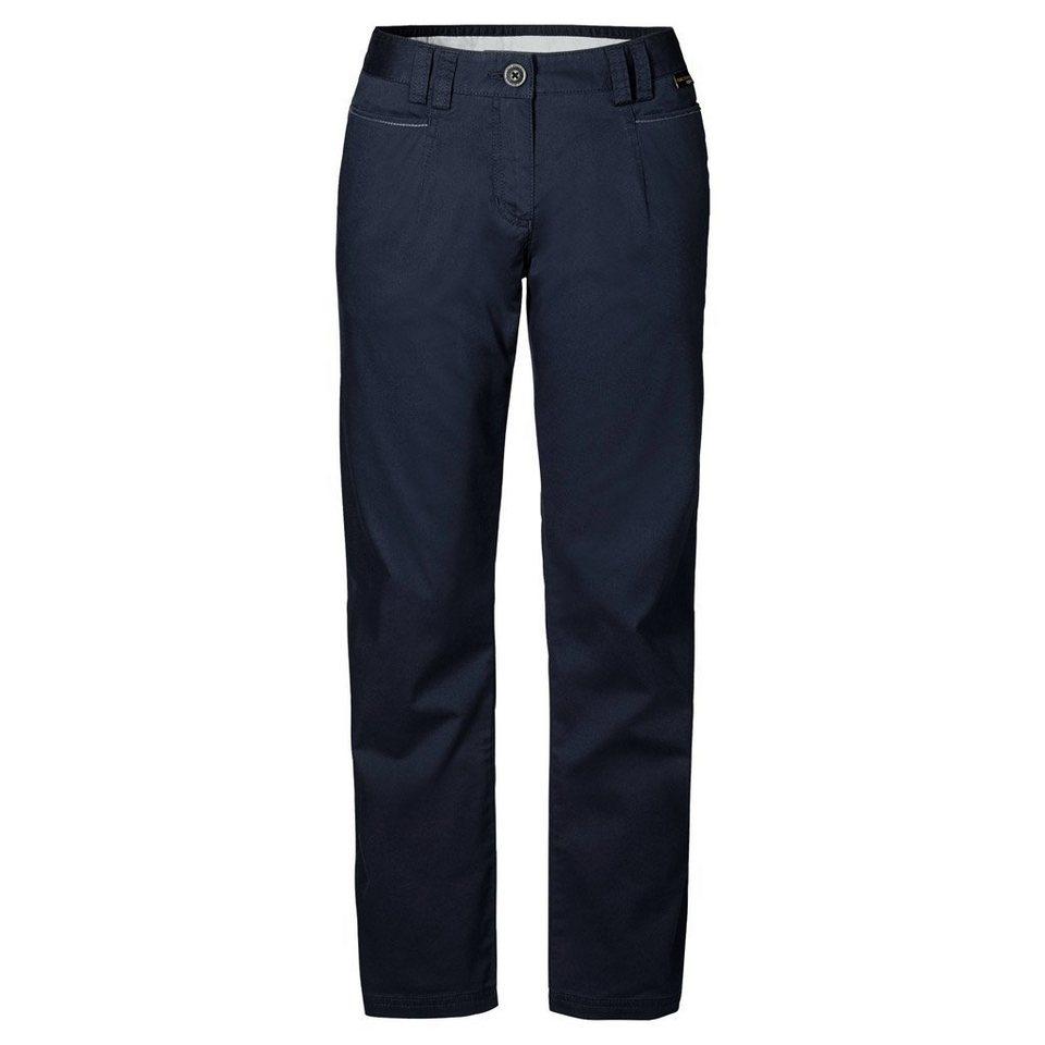 Jack Wolfskin Outdoorhose »LIBERTY PANTS WOMEN« in night blue