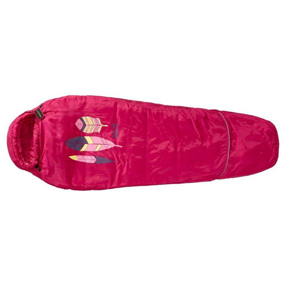 Jack Wolfskin Kinderschlafsack »GROW UP KIDS« in azalea red