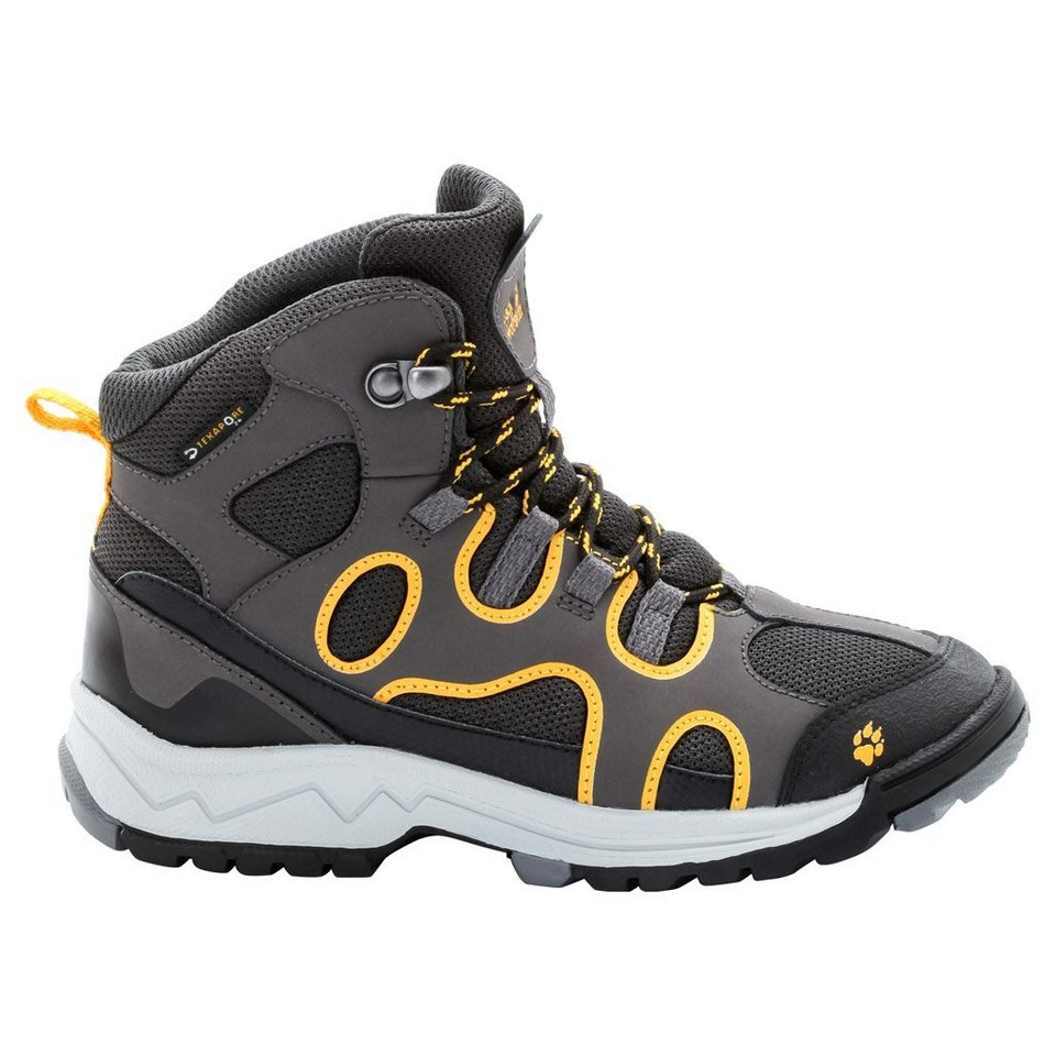 Jack Wolfskin Wanderschuh »CROSSWIND TEXAPORE MID K« in burly yellow