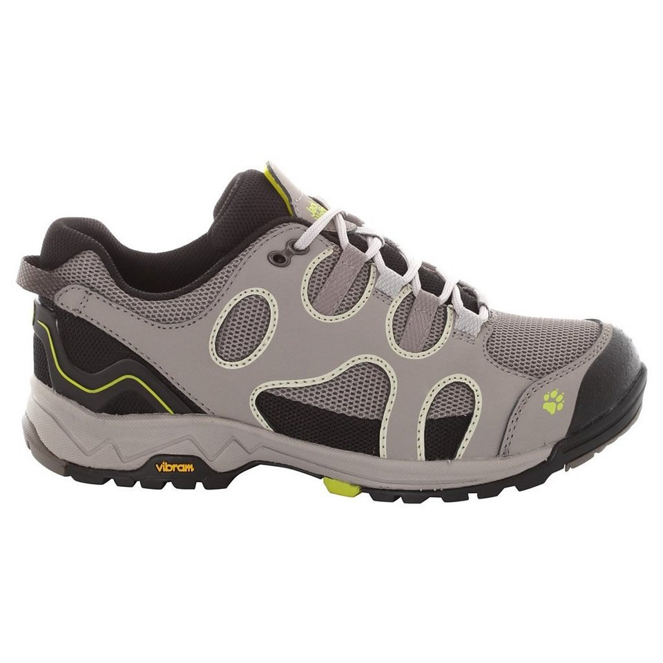 Jack Wolfskin Wanderhalbschuh »CROSSWIND LOW W« in bright absinth