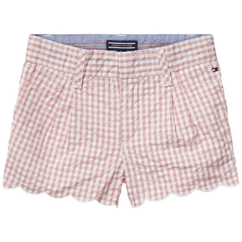 Tommy Hilfiger Shorts »MONICA GINGHAM MINI SHORT« in Blush