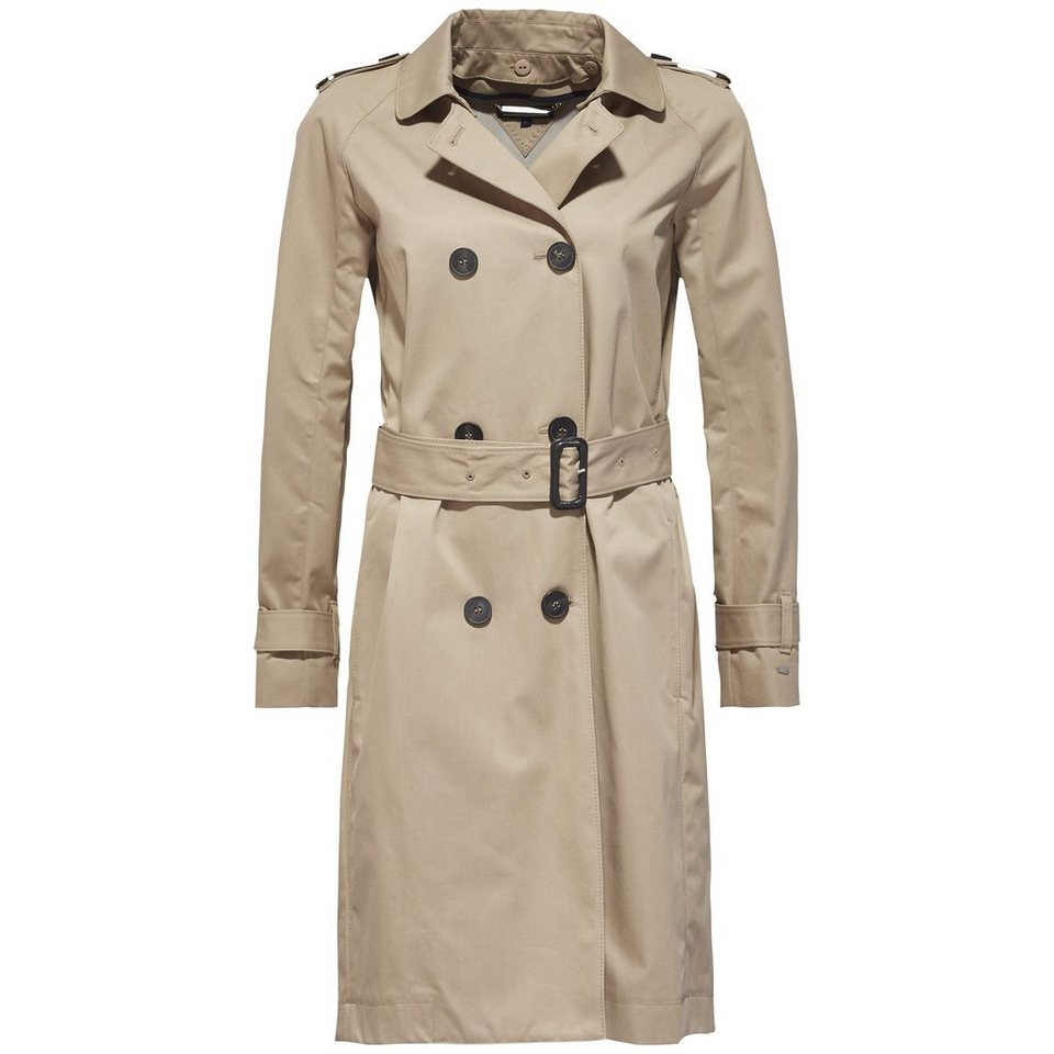 Tommy Hilfiger Outdoorjacken »CITY COTTON TRENCH« in CLASSIC CAMEL