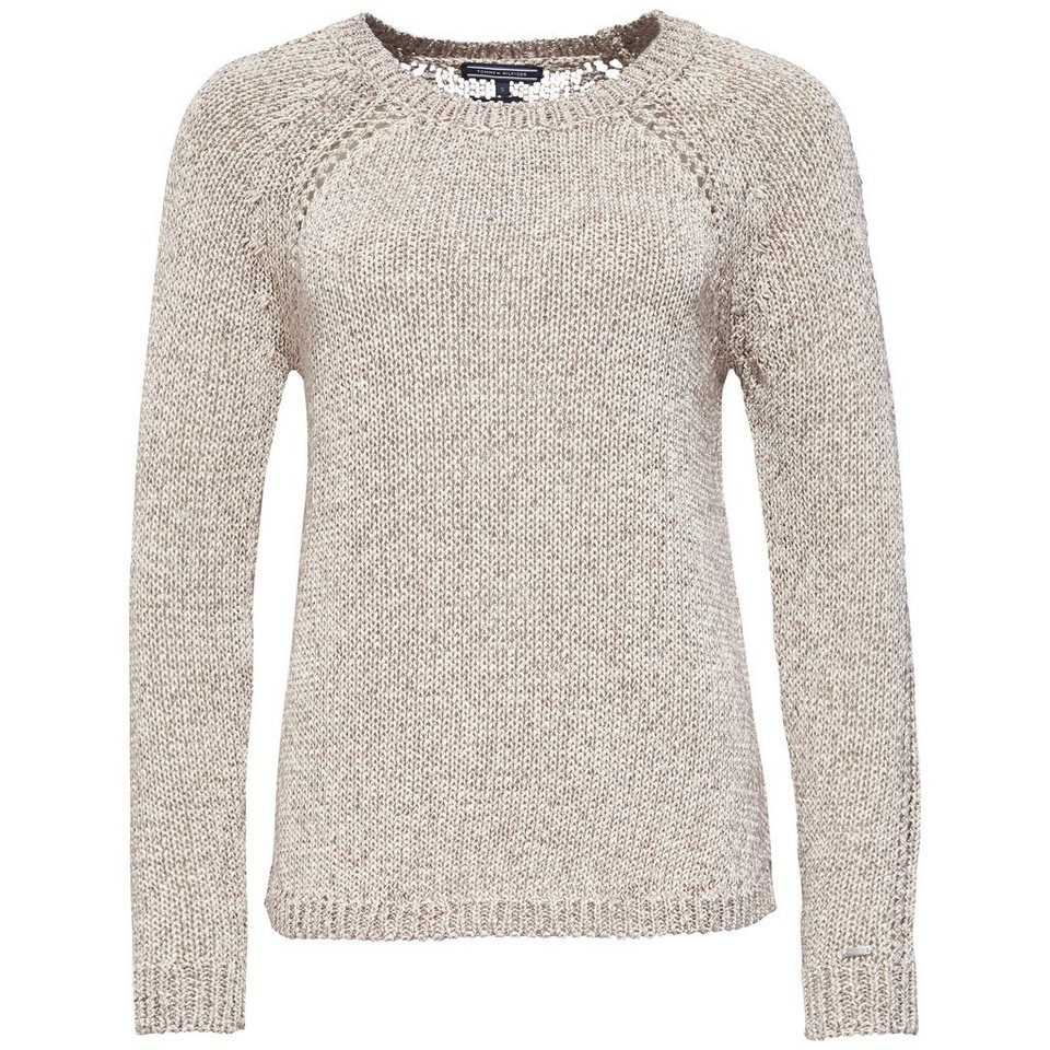 Tommy Hilfiger Pullover »HOLIVO SWTR« in PEACH PEARL