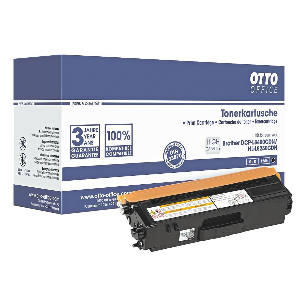OTTO Office Standard Toner ersetzt Brother »TN-326BK«